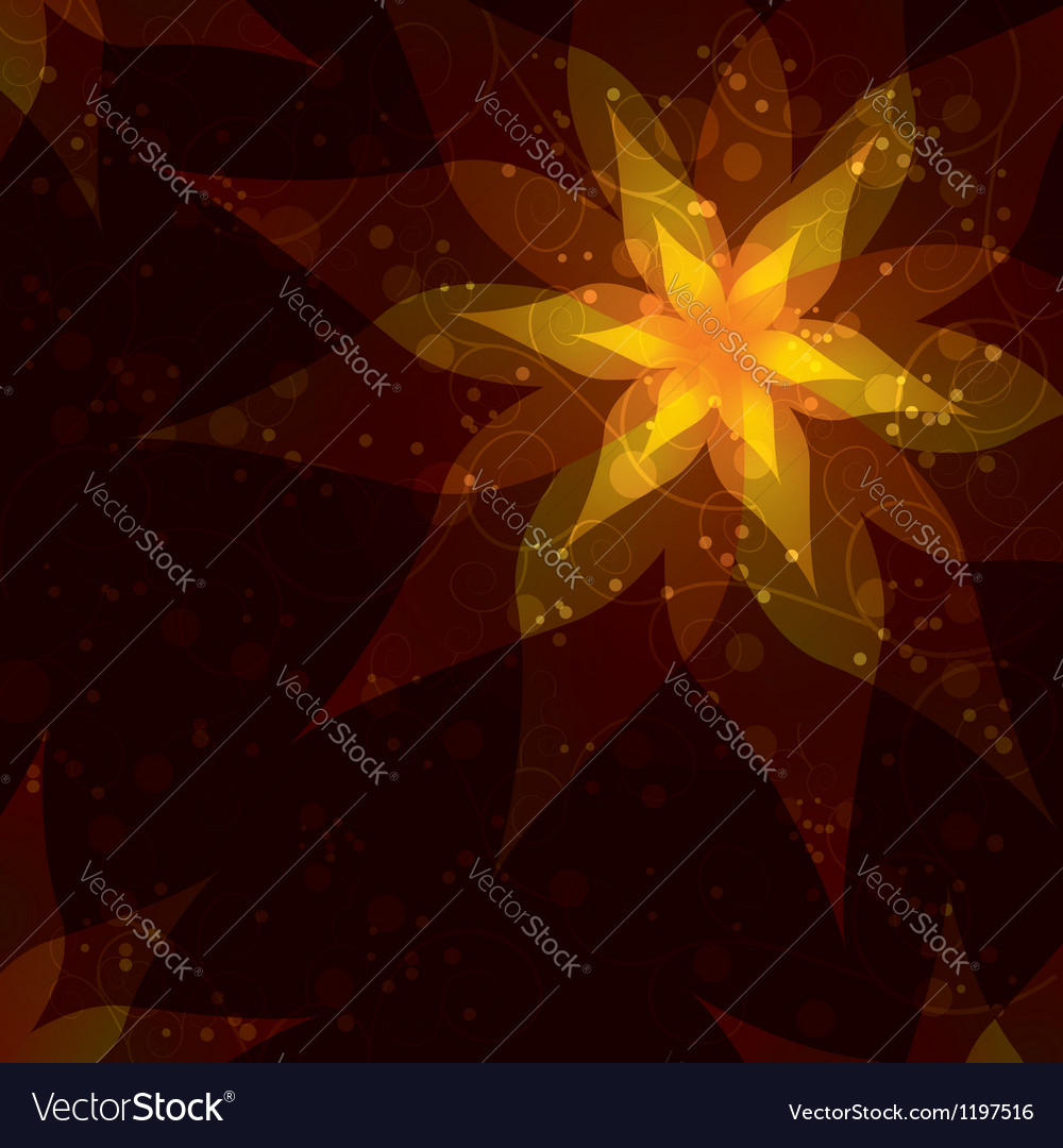 Bright background with flower invitation or vector