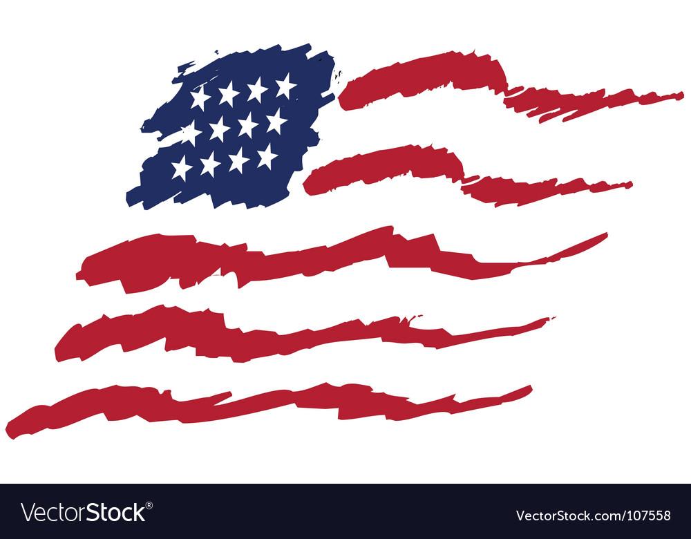 Https Www Vectorstock Com Royalty Free Vector American Flag Vector 107558