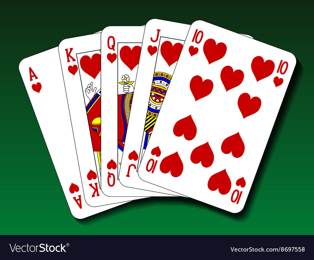 ace high heart flush
