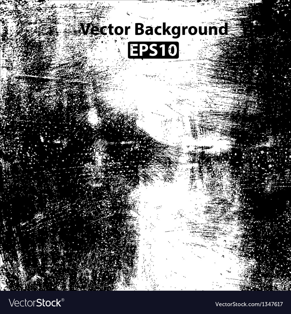 Scratched border texture vector