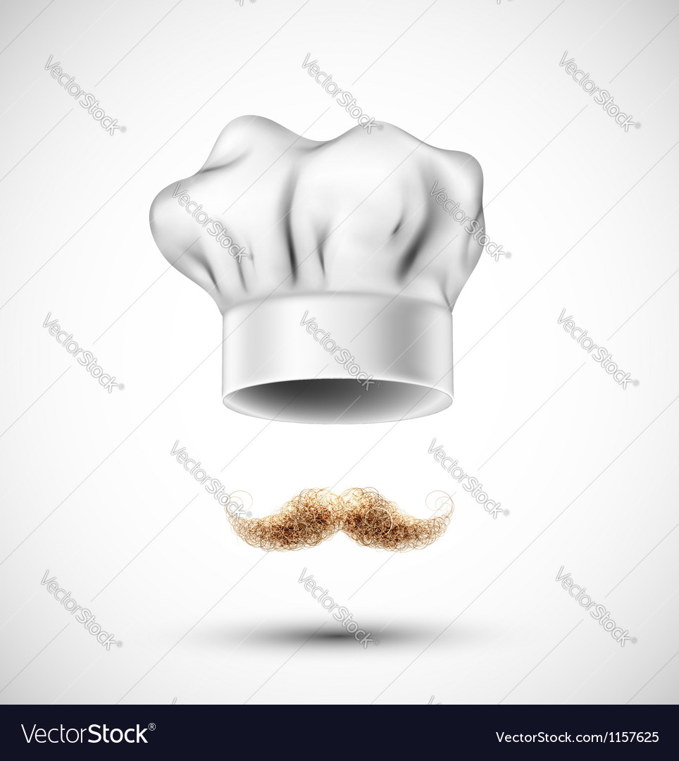 Accessories cook vector
