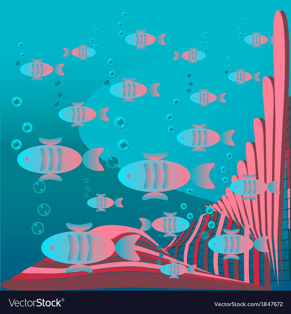 Fish floating