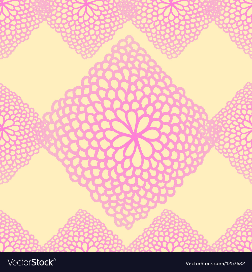 Floral seamless rose pattern vector
