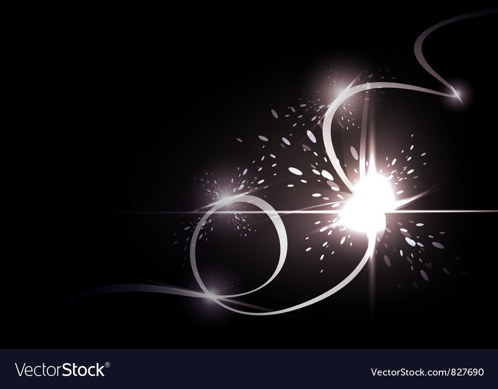 Abstract background  the energy flows vector