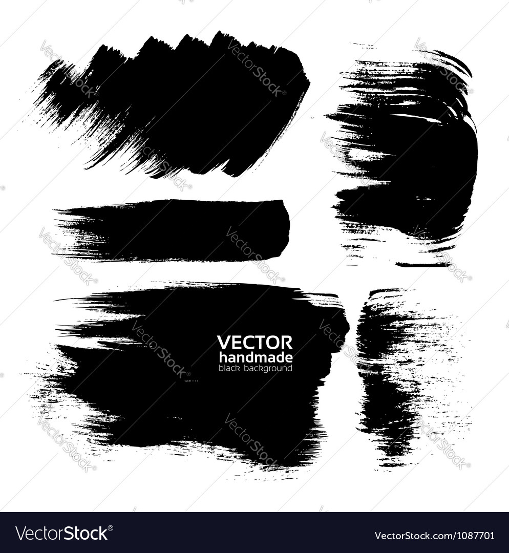 Handmade abstract textures background vector