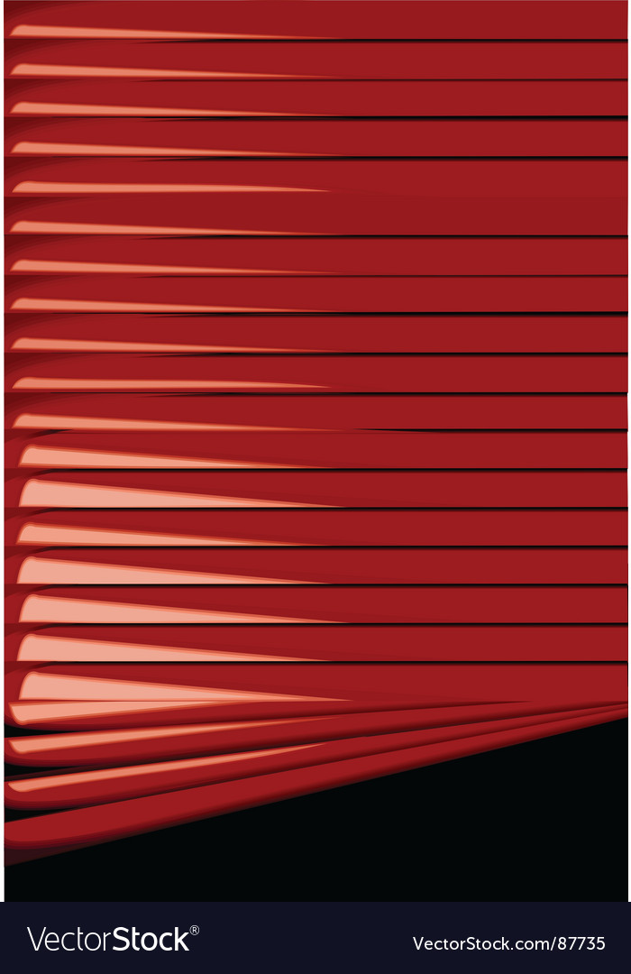 Venetian blinds backgrounds vector