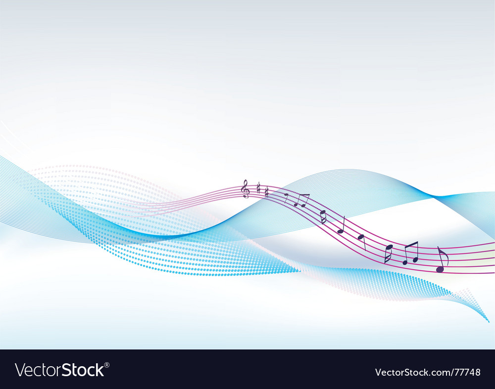 Background music vector