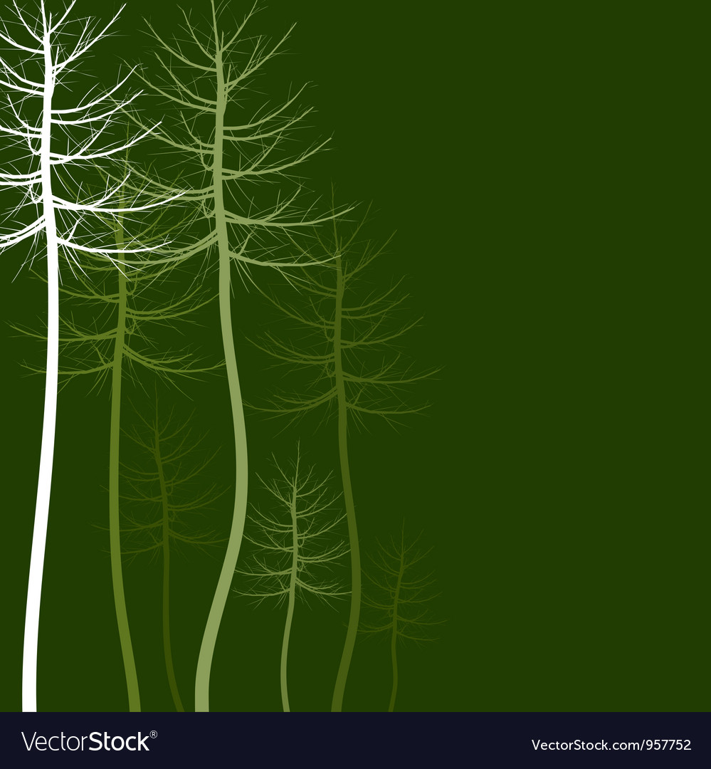 Abstract tree5 vector
