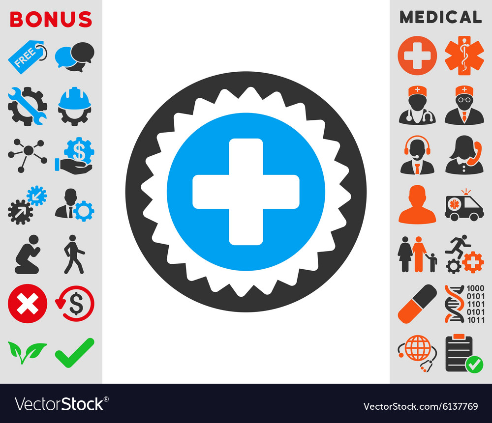 Abstract Of Medical Rubber Stamp Stock Photography - Image: 33443622