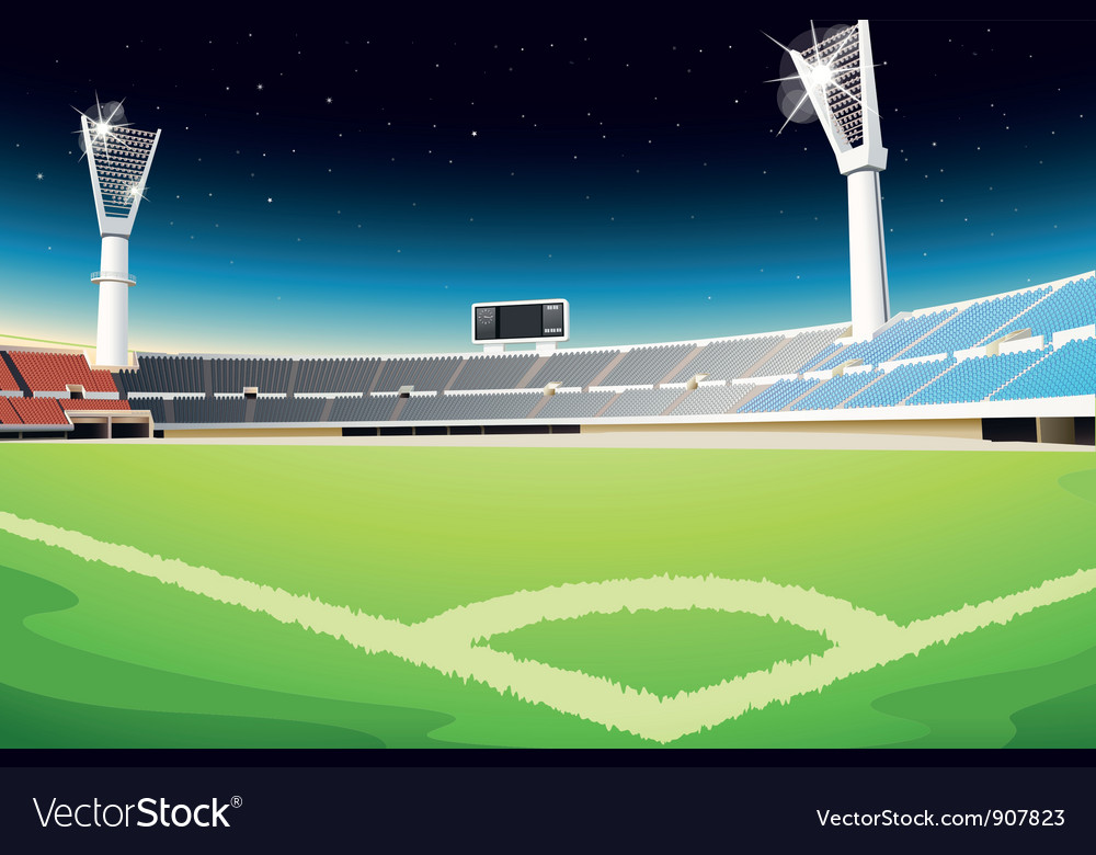 Sporting stadium vector