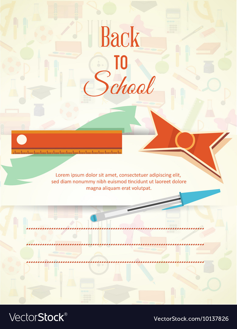 Education with school elements