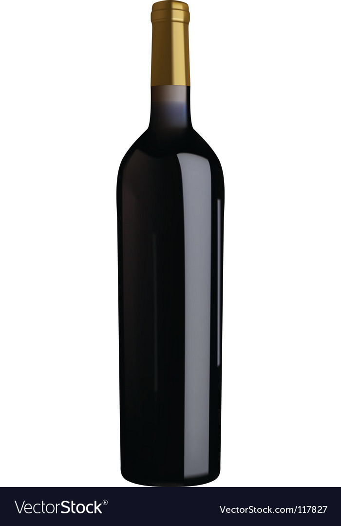 red wine bottle vector bottle red wine