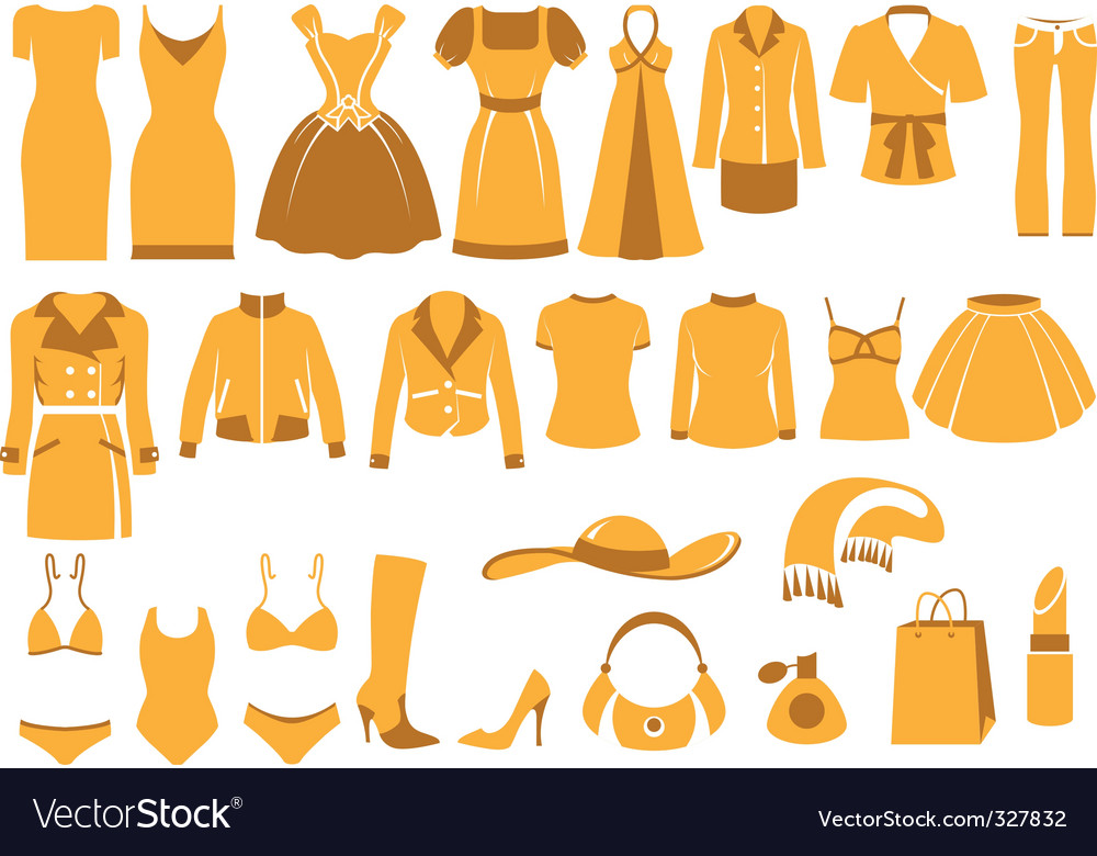 Apparel vector
