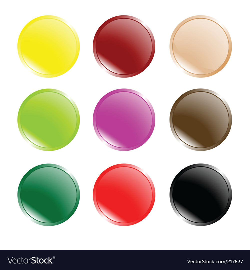 Buttons vector