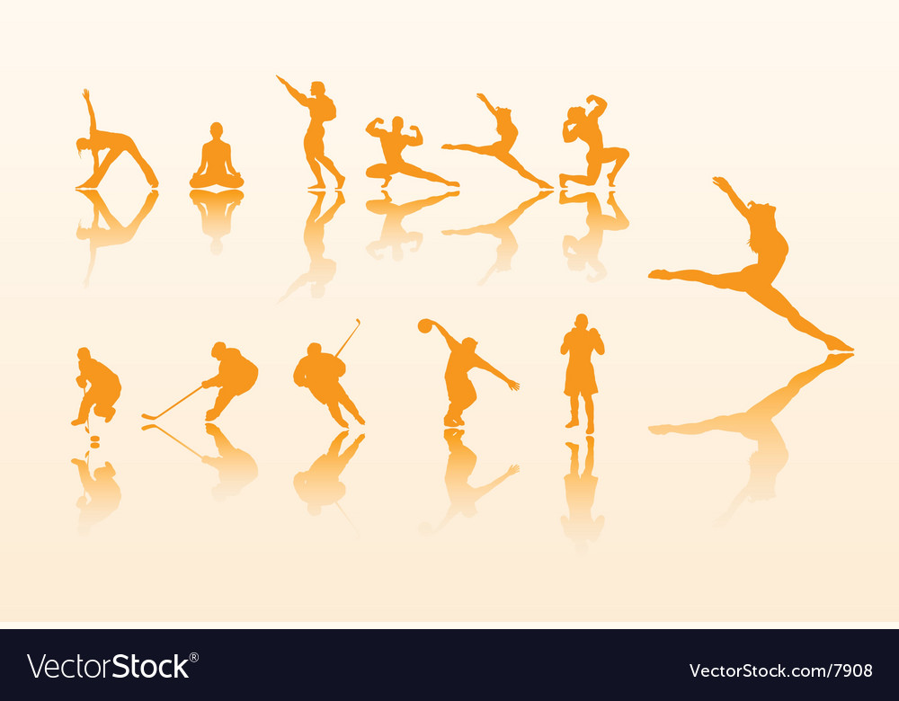Sport and fitness vector