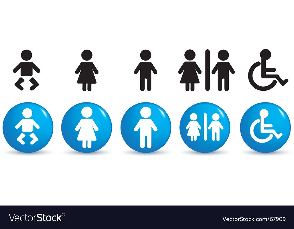 People symbols vector