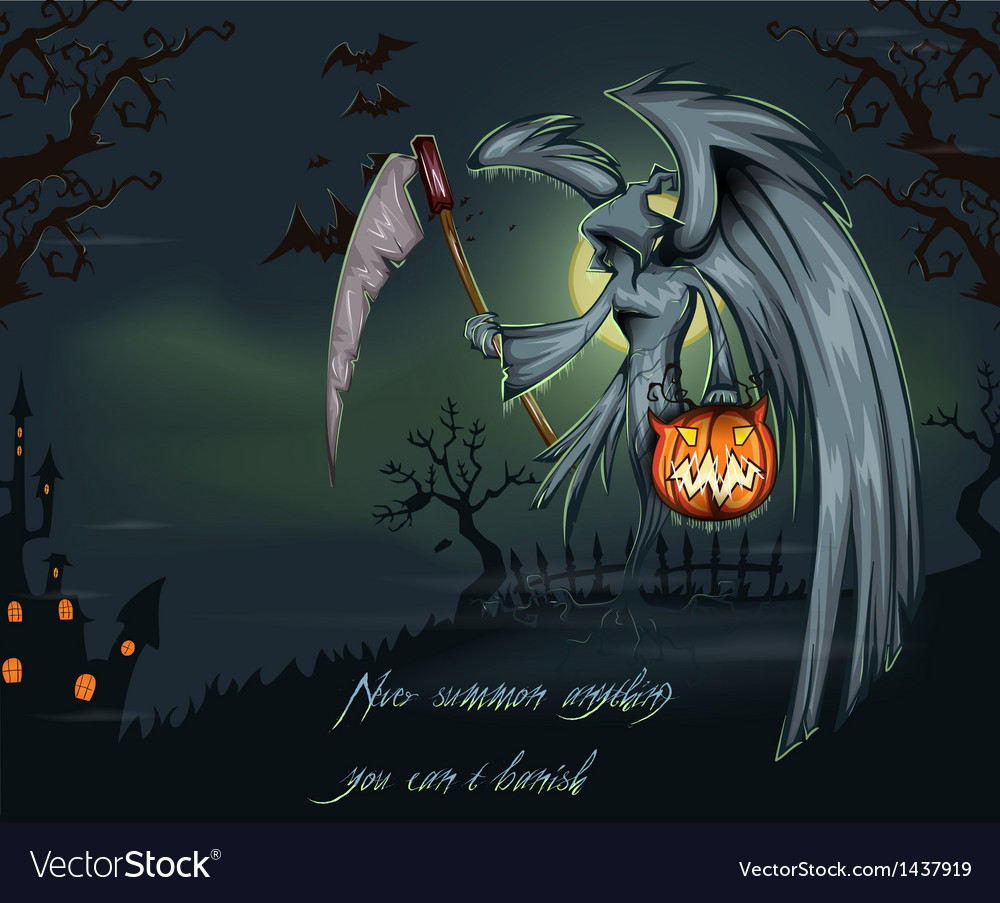 Free halloween background vector