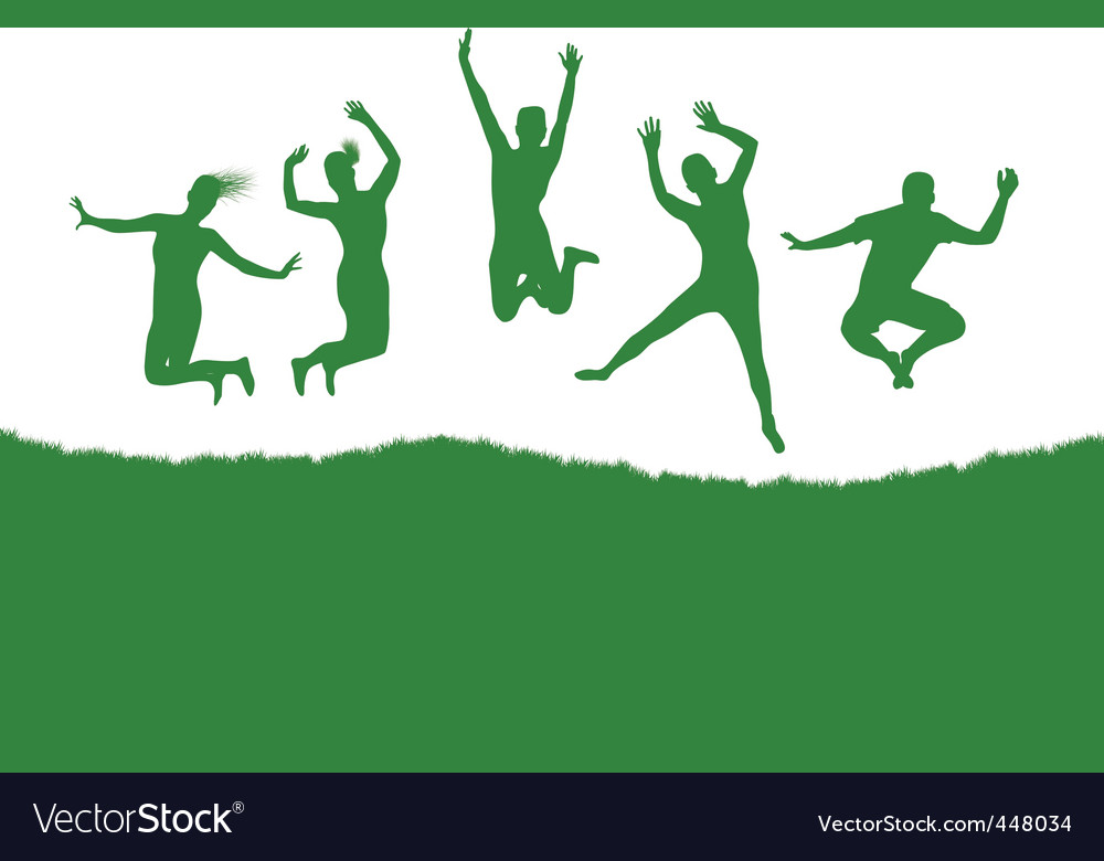 Dancing background vector