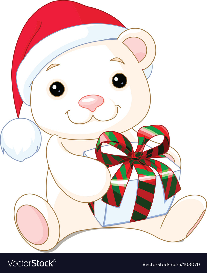Cute Christmas Teddy Bear Images & Pictures - Becuo