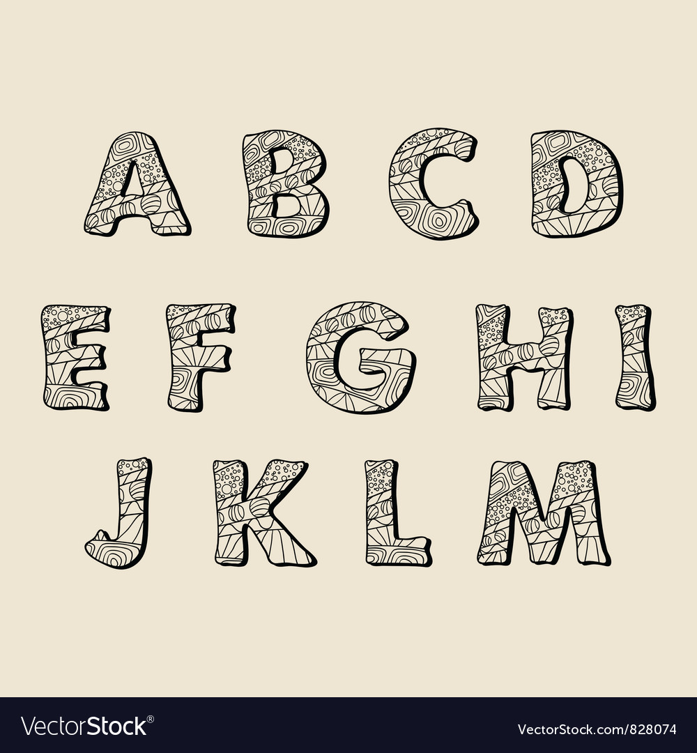 Pretty Letters To Draw