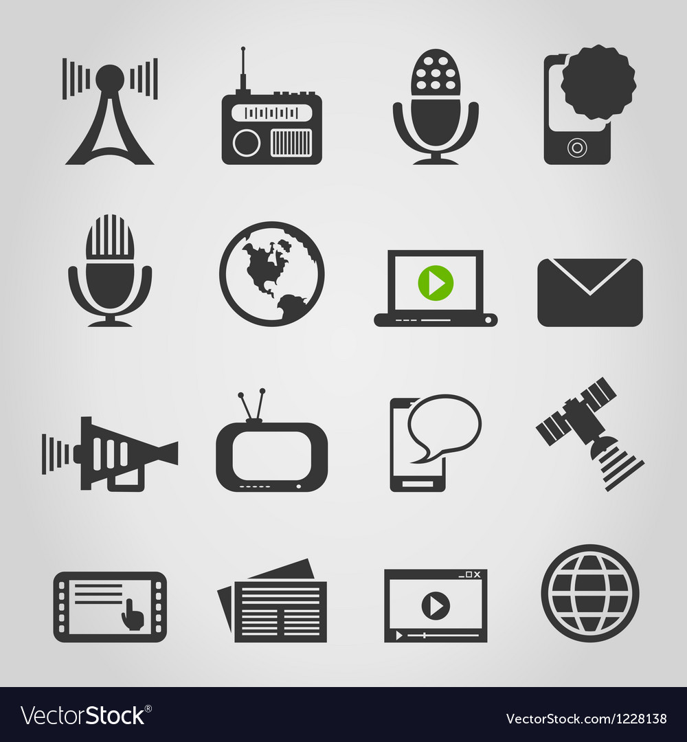 Icon communication5 vector