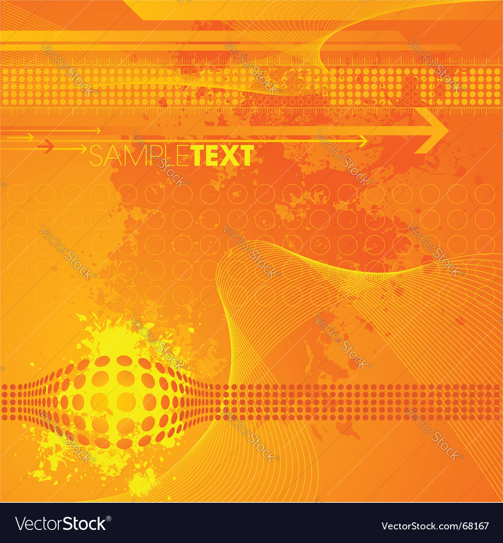 Modern high tech background vector