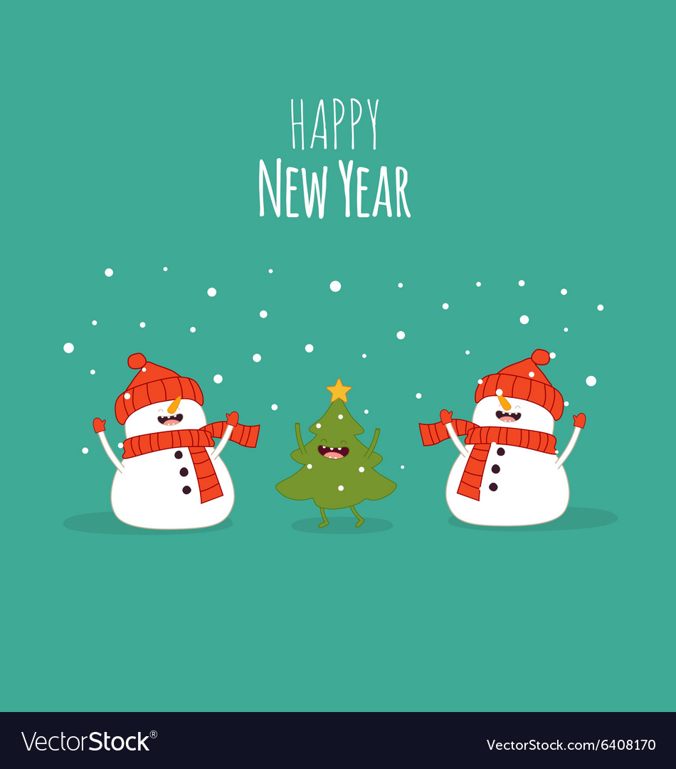 Happy newyear card