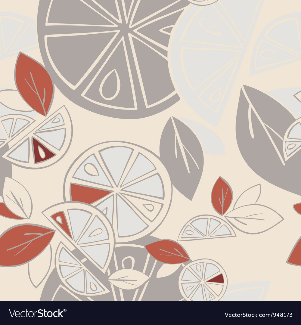 Seamless background citrus mix vector by jmcreation image 948173