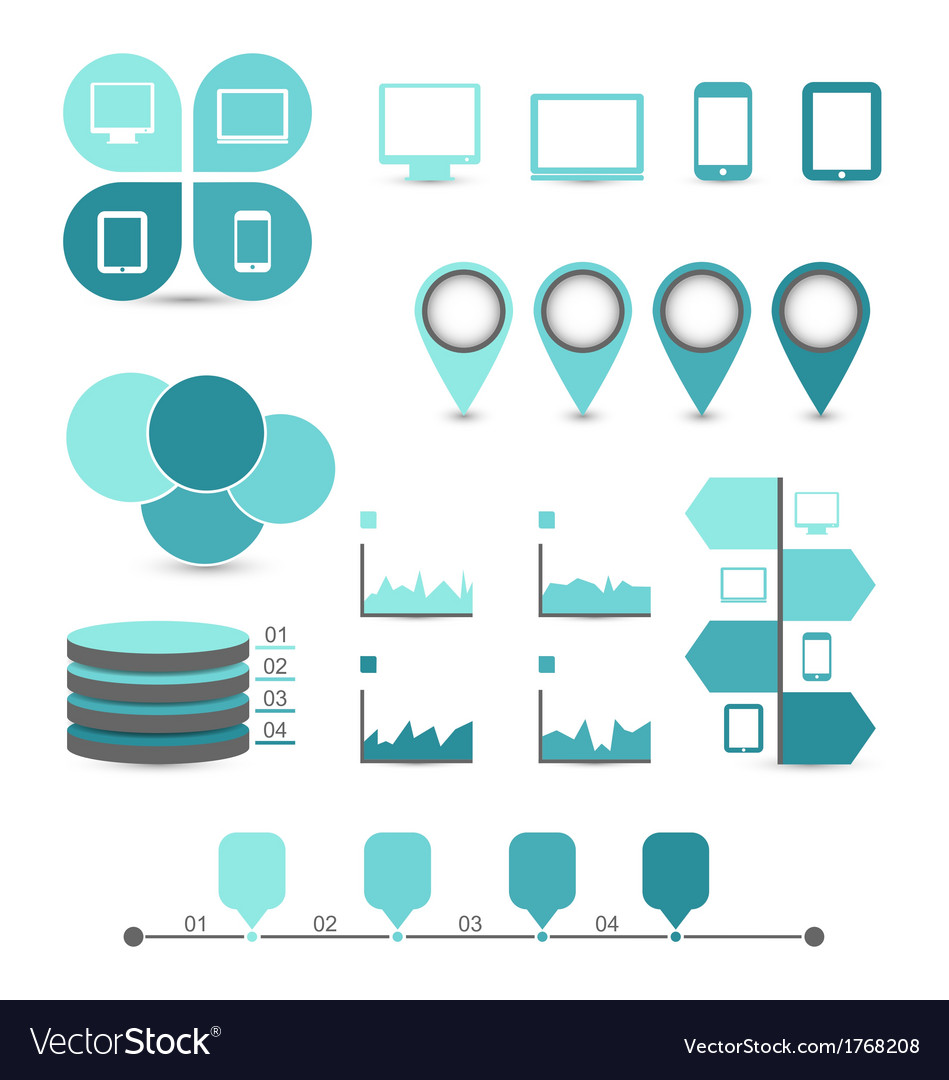 Infographic design elements ideal to display free vector by ...
