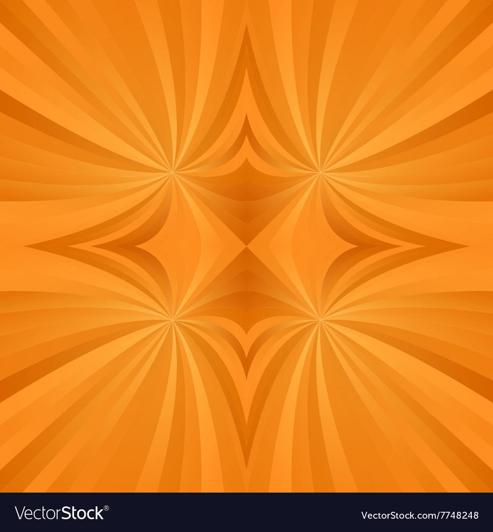 Orange spiral meditation background