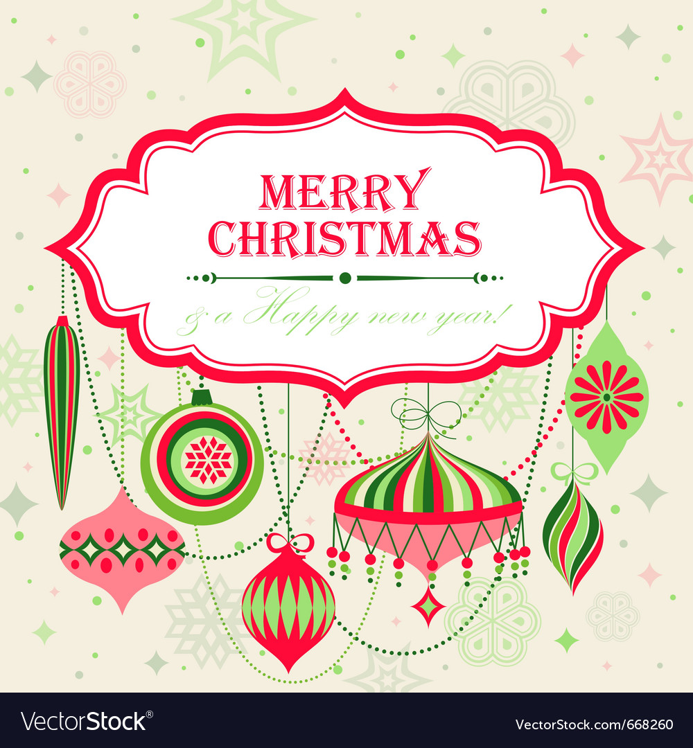 Christmas background with place for text vector