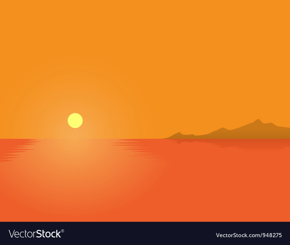 Summer sunset