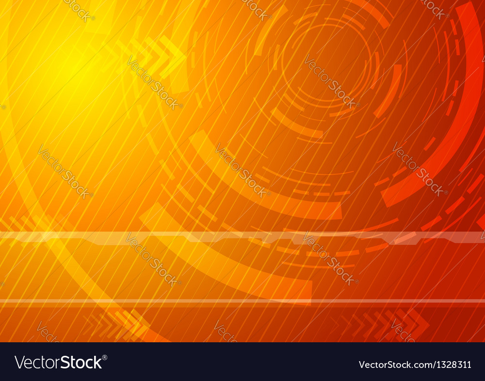 Sunburst  technology background vector