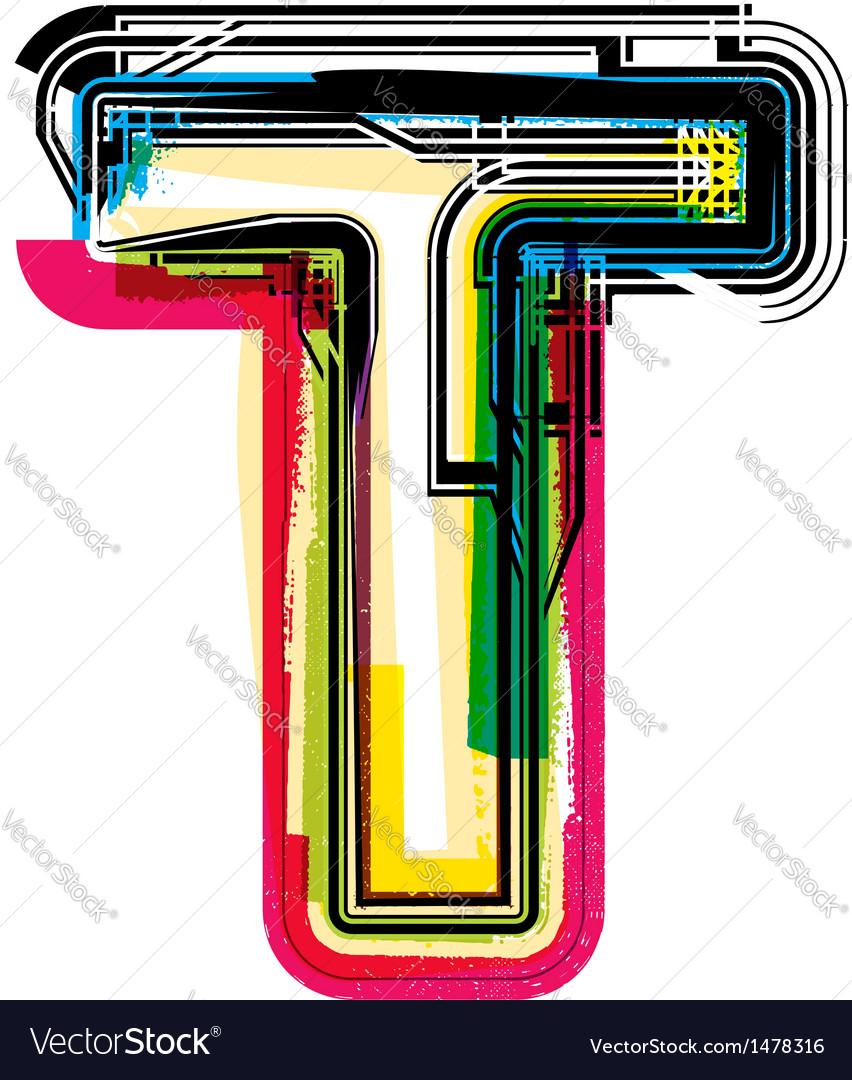 Mobi Descargar Graffiti Alphabet T Graffiti Letter T