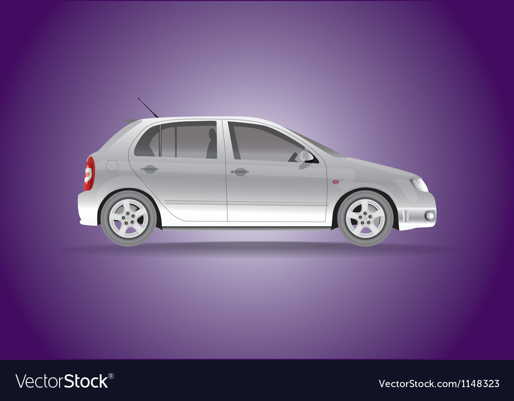 Car hatchback vector