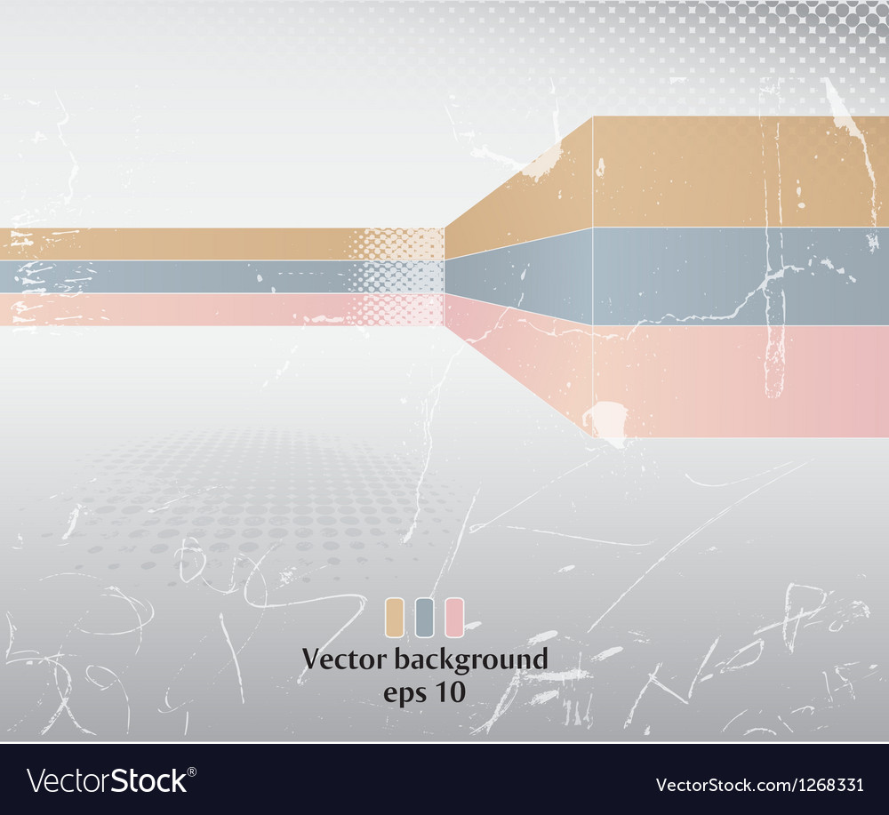 Grunge poster vector