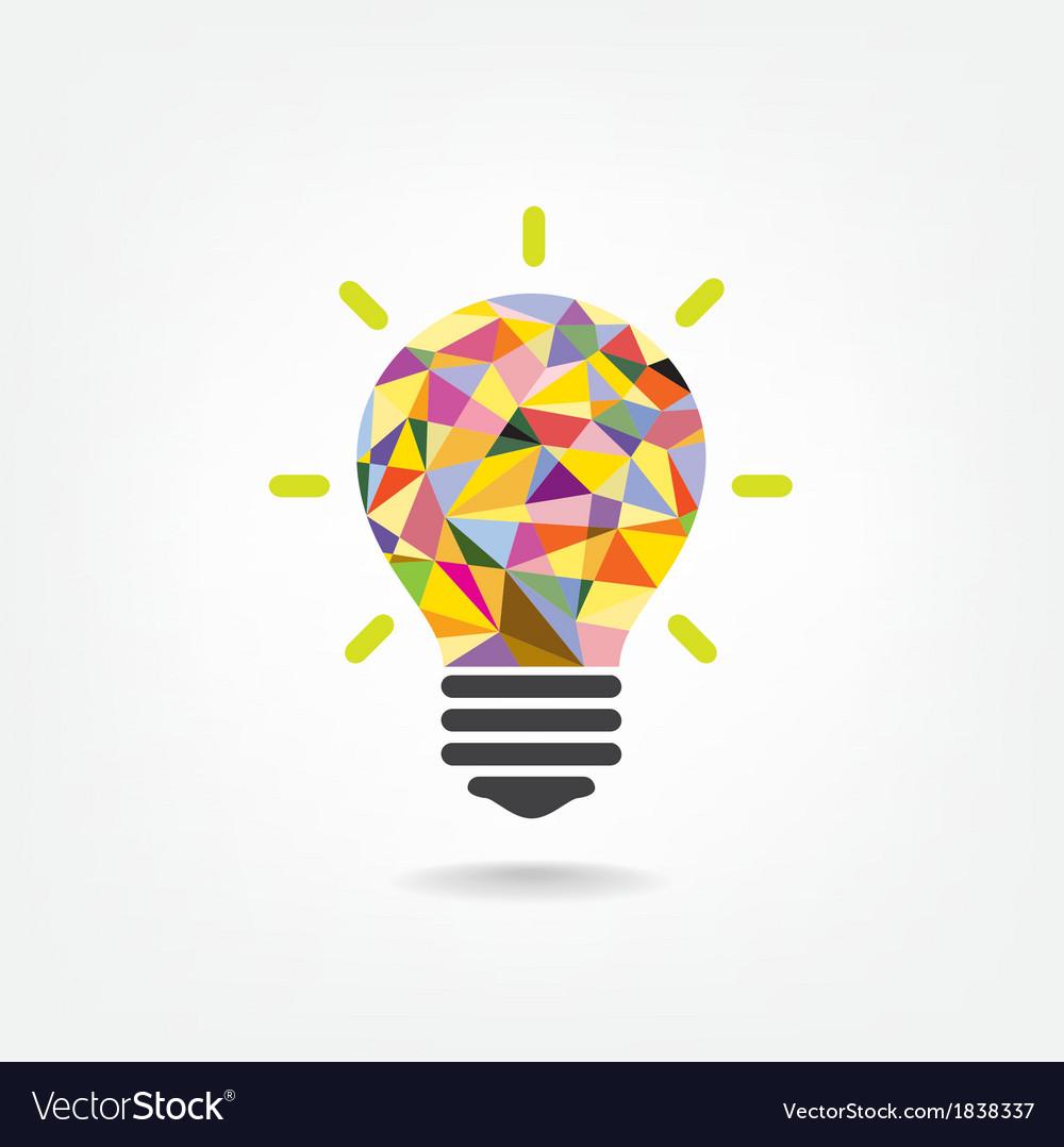Creative light bulb idea concept vector by chatchai5172 - Image ...