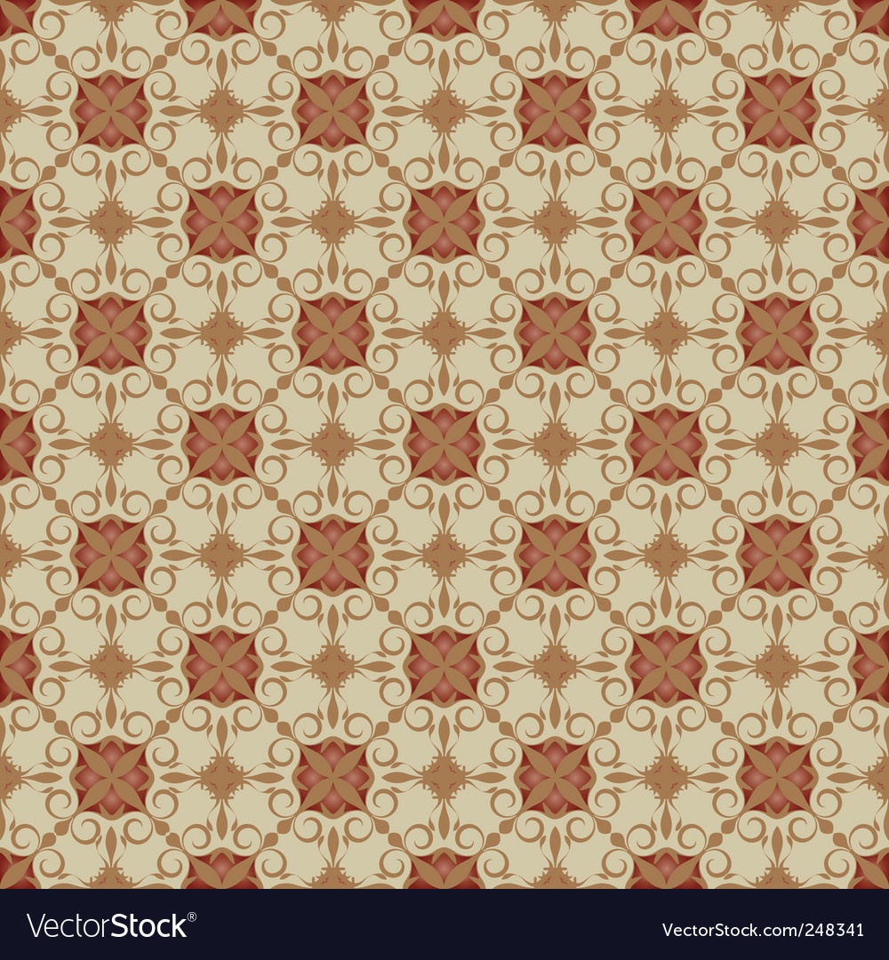 Ornamental background vector