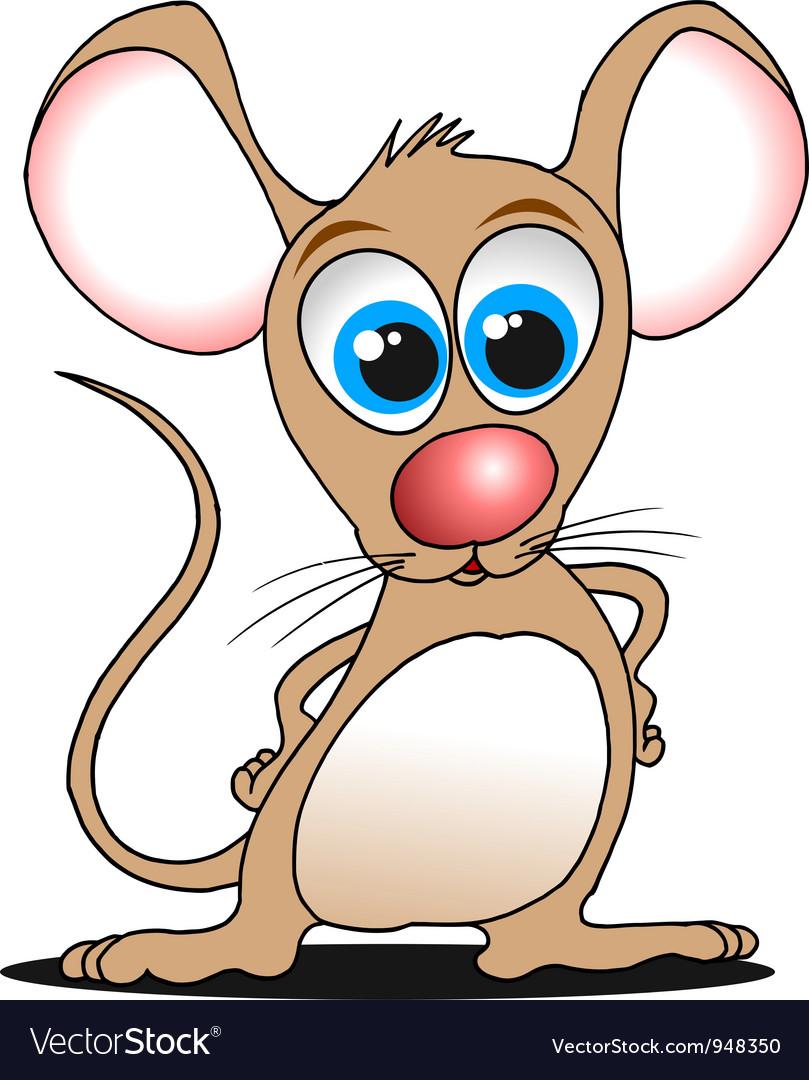 Cartoon mouse vector by sababa66 - Image #948350 - VectorStock