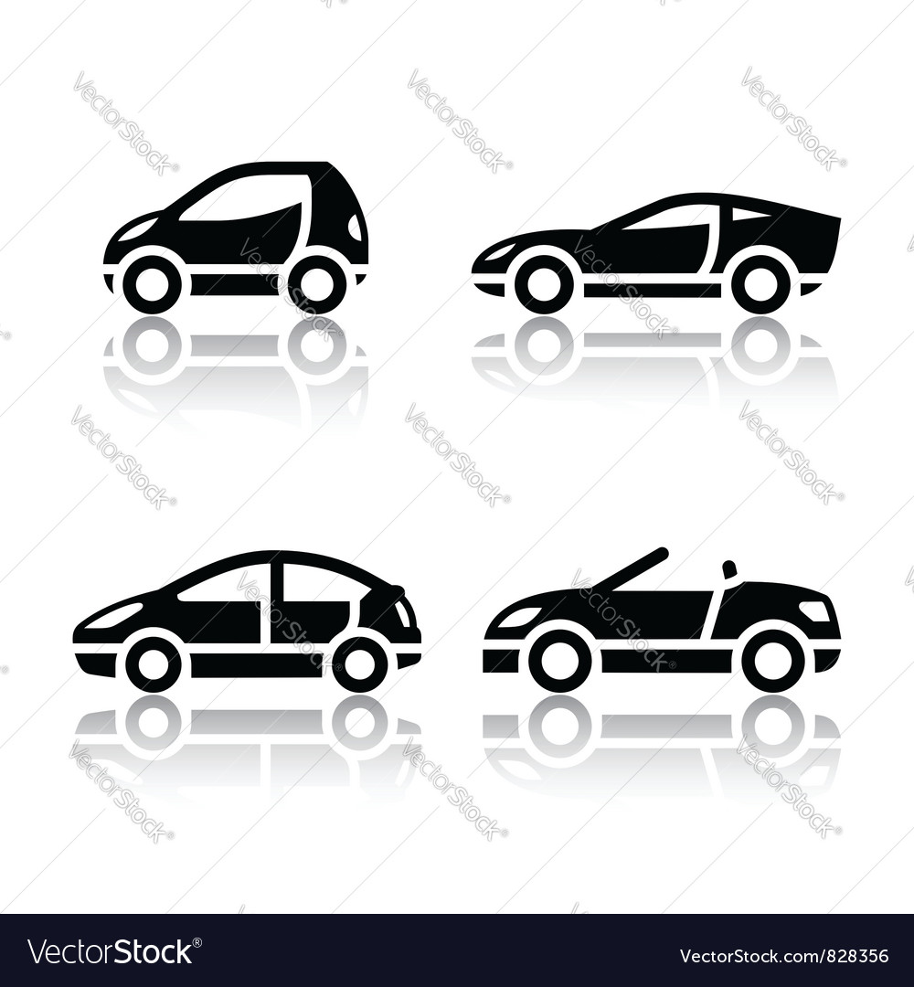 Set of transport icons  vehicles vector