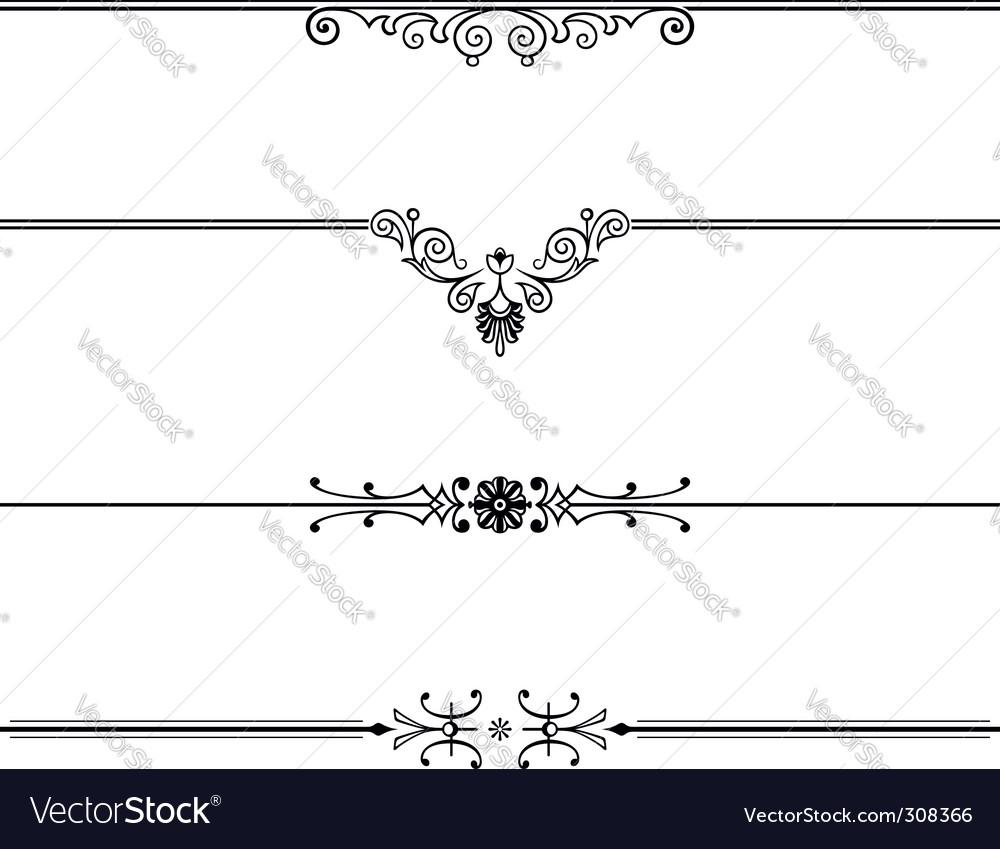Elegant design element vector by barbulat - Image #308366 ...