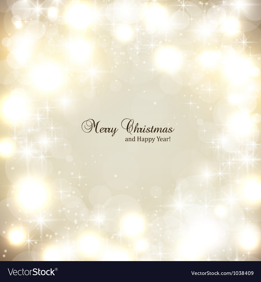 Elegant christmas background with snowflakes and vector