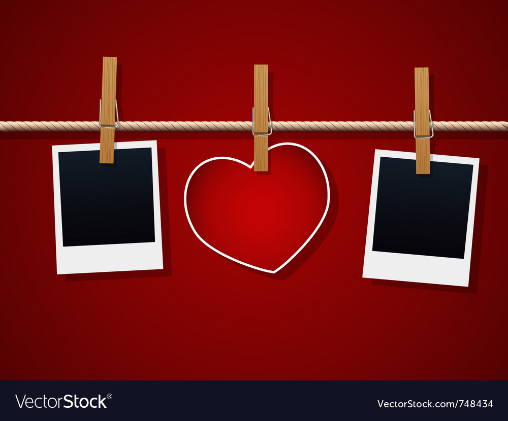 Love cards vector