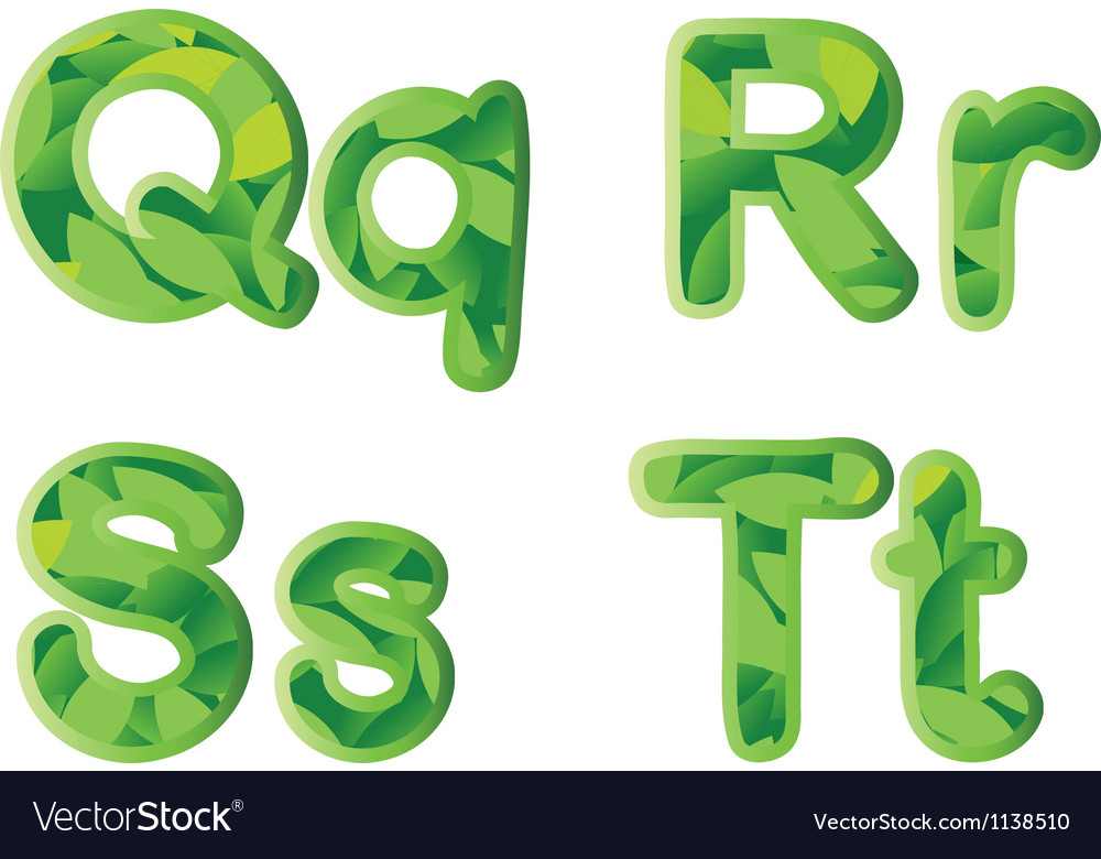 Letters vector