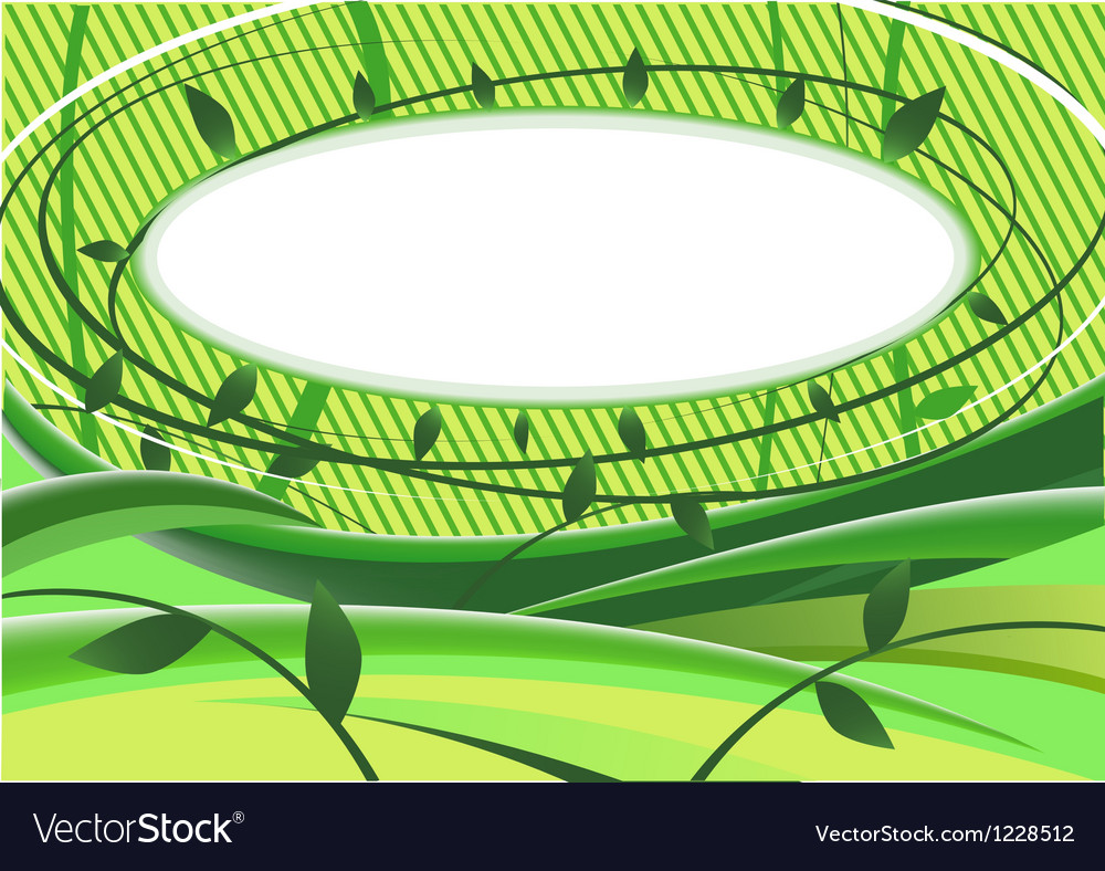 Vegetative background vector