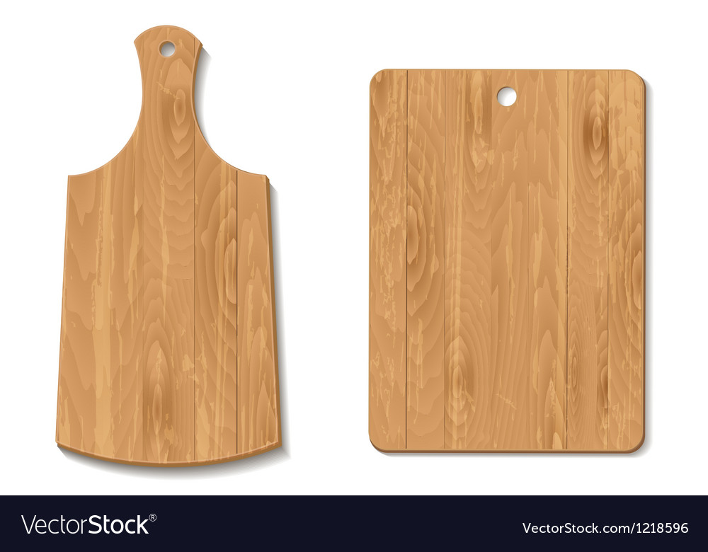 Cutting board vector