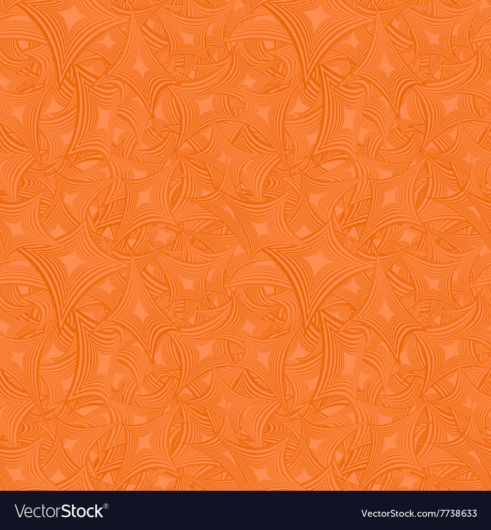 Orange abstract seamless pattern background