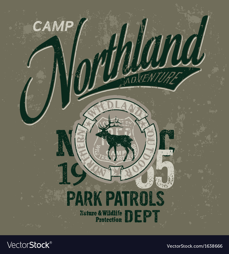 Northland adventures vector