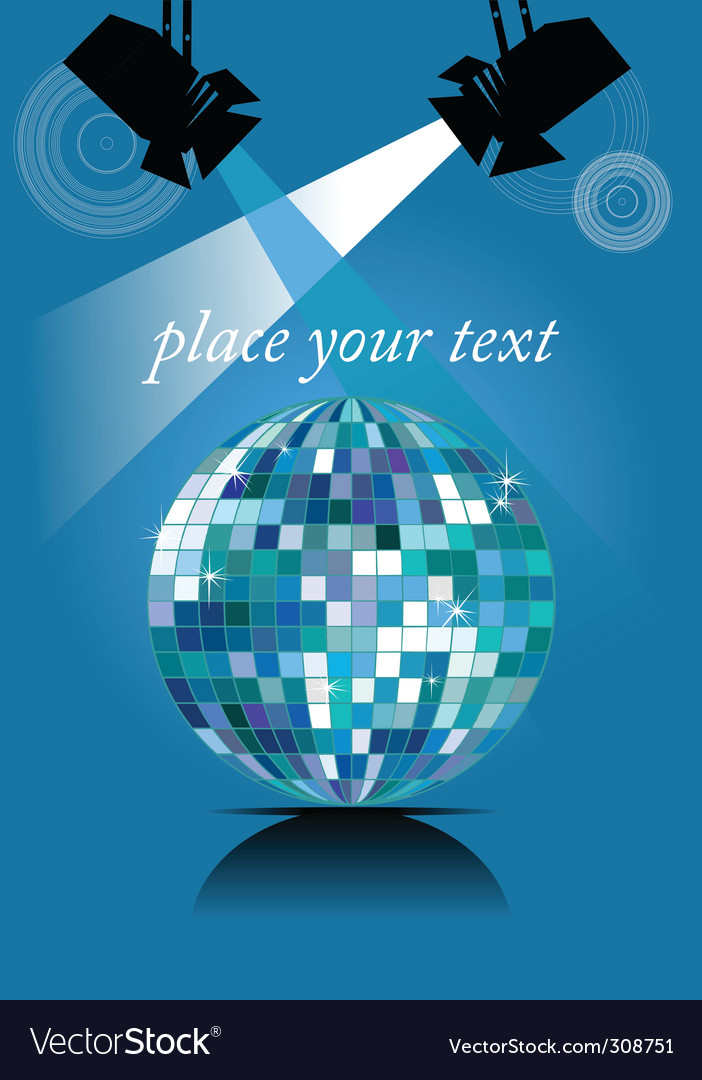 Mirror ball vector