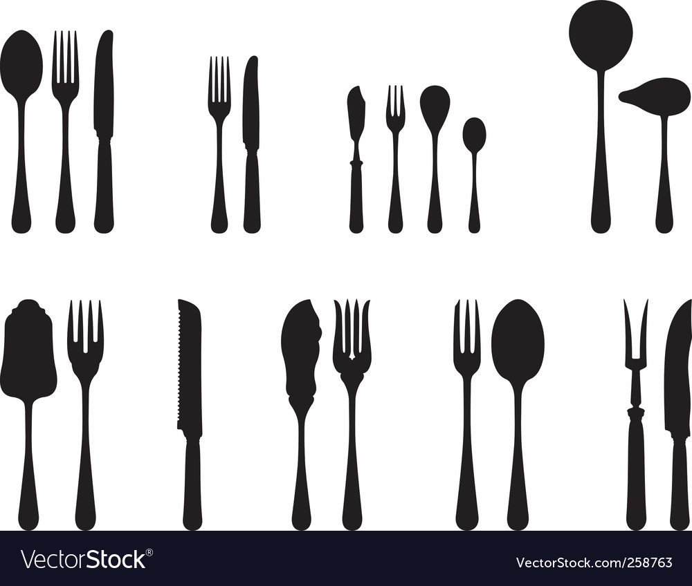 Luxury Menu With Cutlery Stock Photo - Image: 31886150